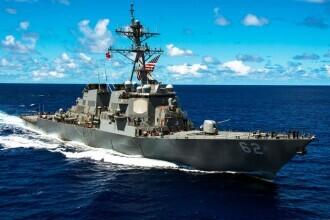 Marina americană își dotează navele de război cu o armă laser capabilă să distrugă aeronave în zbor