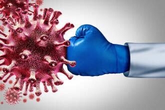 Studiu: Imunitatea la infecţia cu SARS-CoV-2 durează cel puţin şase luni