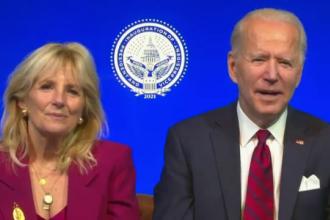 Cine îi va întâmpina pe Joe și Jill Biden la Casa Albă. Absența lui Trump, fără precedent în ultimul secol