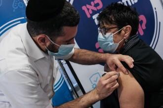 Mulți israelieni se infectează deși au fost vaccinați.