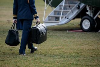 Transferul codurilor nucleare către Joe Biden s-a făcut, în premieră, în două etape