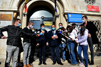 Restricțiile din București s-ar putea relaxa, dacă se menține rata actuală de infectare