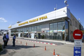 Aterizare de urgență pe aeroportul din Timișoara, după ce unei pasagere dintr-o cursă Tarom spre Madrid i s-a făcut rău