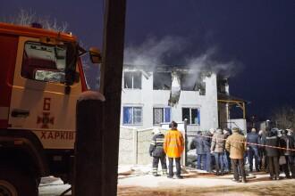 Incendiu uriaș la un cămin de bătrâni din Ucraina. Sunt 15 morți și 11 răniți