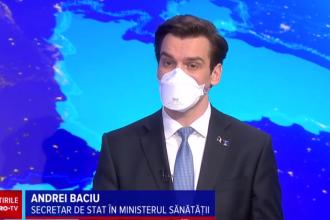 """Andrei Baciu, despre criza vaccinurilor: """"Această limitare este valabilă pentru următoarele săptămâni"""""""