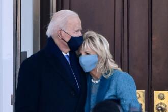 VIDEO. Surpriza neplăcută de care au avut parte soții Biden când au ajuns la Casa Albă