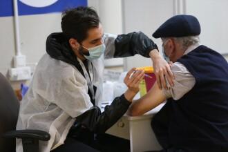 Israel: Prima doză de vaccin a redus cu 60% spitalizările la persoanele de peste 60 de ani