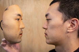 Mască hiper-realistă, proiectată de un japonez
