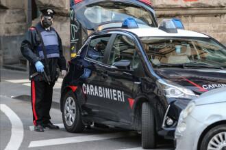Român beat și desculț, arestat în Italia după ce a furat și abandonat o mașină. A spus că nu știa cum a ajuns acolo