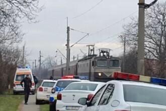 O femeie din Târgu Jiu a murit tăiată de tren. Autoritățile nu știu dacă e accident ori sinucidere