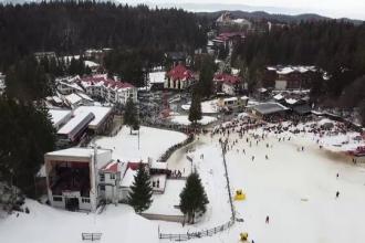 Experiment ȘtirileProTV. Cât se stă la coadă în Poiana Brașov. Zeci de minute de așteptare pentru 10 minute de schi