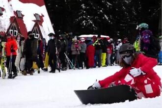 Pârtiile de schi au fost pline de turiști. Unde se găsește cea mai bună zăpadă