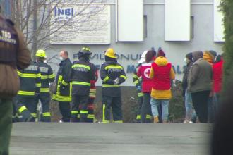 """Cercetarea la faţa locului în ancheta incendiului de la Institutul """"Matei Balş"""", finalizată"""