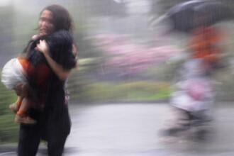 Potop in China. Peste 100 de morti si 50 de disparuti