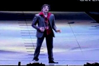 Michael Jackson, cantand si dansand! Cu 48 de ore inainte de a muri!
