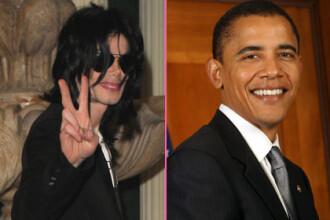 Barack Obama: Am crescut pe muzica lui Michael Jackson!