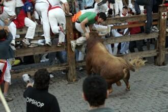 Goana spre moarte, la Pamplona: tanar ucis de un taur!