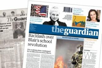 Razboi in presa britanica, intre The Guardian, The Sun si News of the World