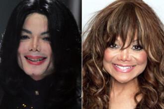 La Toya Jackson, copia fidela a lui Michael!