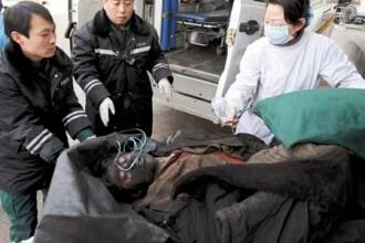 Tragedie in China: 30 de mineri morti si sapte blocati in subteran