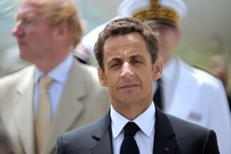 Nicolas Sarkozy a fost externat si se simte bine