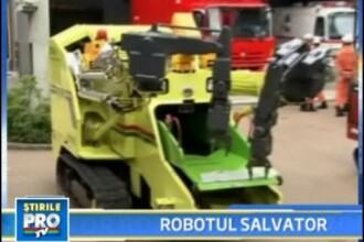 RoboCue, primul robot antrenat pentru a salva oameni
