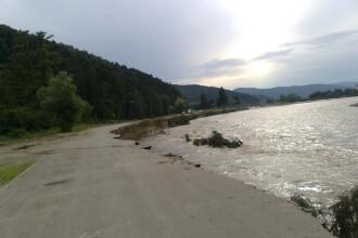 Localitati intregi din nord-estul Statelor Unite acoperite de apa