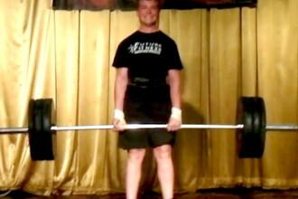 El este cel mai puternic baiat din lume! Ridica 140 kg la doar 12 ani