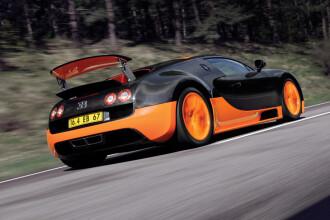 Bugatti Veyron, in Cartea Recordurilor cu 434 kilometri pe ora!
