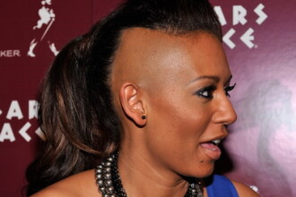 Mel B, fosta Spice Girl, a batut un agent imobiliar