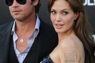 Angelina Jolie si-a mai facut un tatuaj. Vrea sa mai adopte un copil?