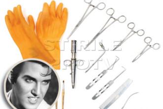 Ustensilele folosite la imbalsamarea lui Elvis Presley, scoase la licitatie