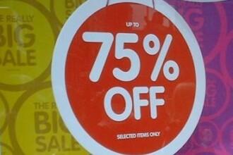 Amenzi pentru reduceri false. 65 de magazine din centrele comerciale clujene sunt cu nereguli