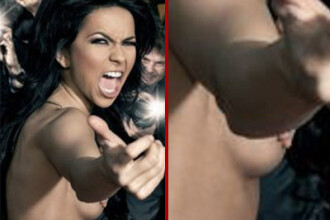 Inna, dezbracata in Cehia! Ii place topless