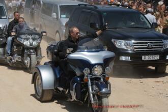 Vladimir Putin, sofer de cursa lunga: va testa o sosea de 2000 de km