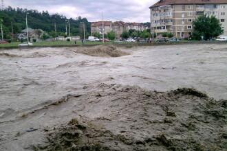 Raul Casin dupa o ploaie zdravana in Onesti