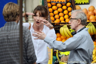 Carla Bruni, data afara din filmul lui Woody Allen!?