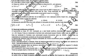 Bac 2011: Subiectele la Fizica,