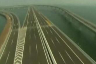 Chinezii care au construit cel mai lung pod peste apa ar putea sa ne faca autostrazi