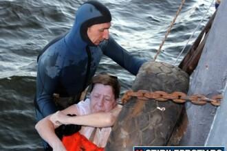 FOTO SOC. Titanicul din Rusia. Aproximativ 64 de corpuri sunt blocate in adancurile fluviului Volga