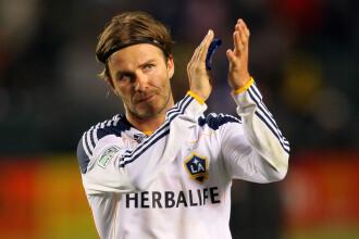 David Beckham se intoarce in Europa. Cu ce club incredibil de bogat va semna fostul galactic