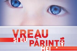 """Alatura-te campaniei 'Vreau si eu parintii mei"""". Cum ajuti cei 40.000 de copii fara familie"""