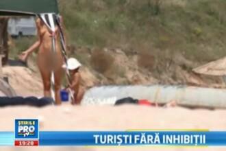 VIDEO. Interzis la plaja. Nudistii din Romania nu au unde sa stea la soare