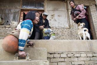 GALERIE FOTO. Visul fetei cu o minge de baschet in loc de picioare: sa ajunga olimpica la inot