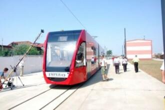 Cum arata tramvaiul de 1,7 mil. euro, pe care Siemens il face la Arad GALERIE FOTO
