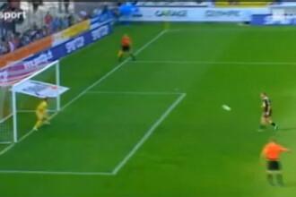 VIDEO Lui Ogararu nu i-a venit sa creada! Cum a vrut un adversar sa dea gol din penalty! :)