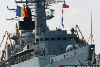 Militarii de pe fregata