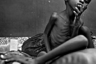 Viata pentru o bucata de paine sau o picatura de apa. Adevarata fata a foametei din Africa de Est