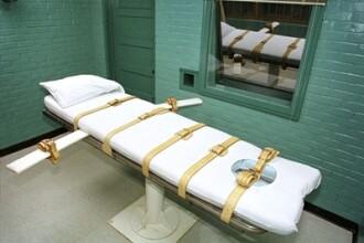 Reactia socanta a unui detinut, inainte de a fi executat. Chiar si gardienii au inlemnit