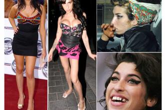 Amy Winehouse: drumul de la celebritate la supradoza! Vezi povestea vietii ei in imagini! FOTO